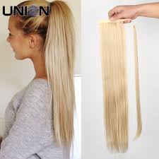 Real Ponytail Hair Extensions by Online Get Cheap Ponytail Hair Extension Aliexpress Com Alibaba