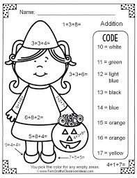 math color by number addition christmas subtraction colossus and