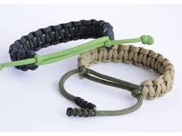 buckle paracord bracelet images Adjustable paracord survival bracelet no buckle sliding knot jpg
