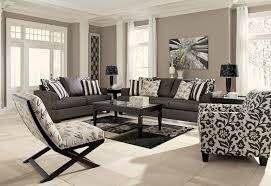 Accent Chair And Table Set Buy Levon Charcoal Showood Accent Chair By Signature Design From