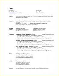 Best Resume Format In Word File by Resume Template 93 Amusing The Best Format Government Jobs