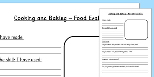 and technology food evaluation worksheet dt food tech
