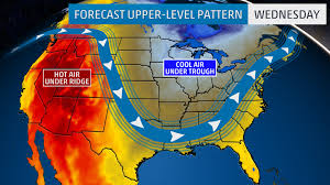 Jet Stream Forecast Map First Week Of Meteorological Fall Is Living Up To Its Name As