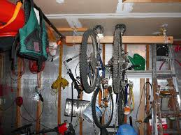 cool garage storage ideas wooden roof truss contemporary bicycles