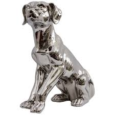 ceramic sitting labrador ornament furniture from
