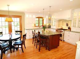 eat in kitchen lighting ideas cabinets traditional with breakfast