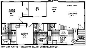Skyline Manufactured Homes Floor Plans 1218ct
