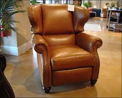 Reclining Wingback Chairs Wingback Leather Recliner American Made Cl735