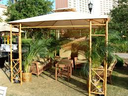 orlando bamboo and steel gazebo rental