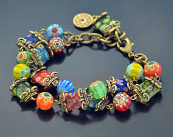 bracelet murano glass images Murano glass jewelry etsy jpg