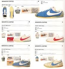 nike senorita cortez 1975 1981 running vintage nike arkamix