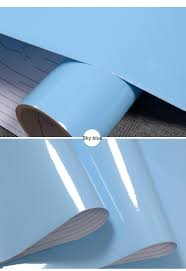 vinyl paper for kitchen cabinets glossy diy decorative film pvc self adhesive wall paper furniture
