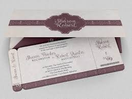 Thailand Wedding Invitation Card Wedding Boarding Pass Invitation Invitation Templates Creative