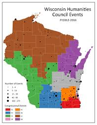 Map Of Northern Wisconsin by Recently Funded Projects Wisconsin Humanities Council