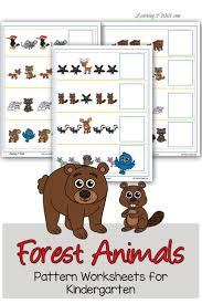 Homeschool Kindergarten Worksheets 96 Best Homeschool Woodland Creatures Images On Pinterest