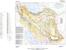 Iraq Province Map Map Showing Geology Oil And Gas Fields And Geological Provinces