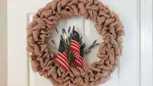 ribbon wreaths diy fourth of july ribbon wreath angie s list
