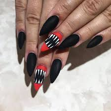 15 over the top halloween nail designs for die hard halloween fans