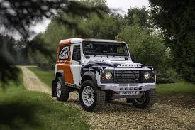 original land rover defender land rover and bowler announce defender challenge rally series