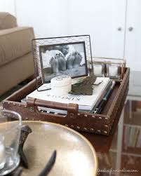 Tray For Coffee Table My Favorite Decorating Ideas Trays Finding Home Farms