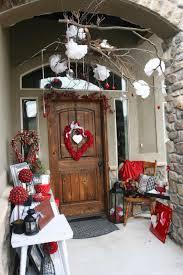 alluring valentine porch home decor showcasing impeccable twin
