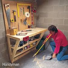 Wbsk Workbench Google Search Garage Pinterest Diy by P U003ethis Simple Wood Work Bench Is Perfect For A Garage Or Utility