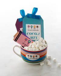 hot cocoa gift set s candy bar hot chocolate mug gift set