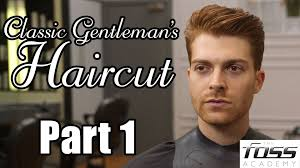 how to cut a classic gentleman u0027s haircut part 1 the mayfair
