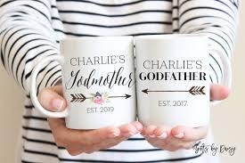 Godmother Mug Choose Style Godmother Mug A Style 1 Or 2 Godfather Mug B