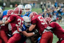 thanksgiving college football games leominster u0027s big play offense overpowers fitchburg sentinel