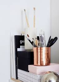 White Home Decor Accessories Copper Craze 43 Ways To Embrace This Home Decor Trend Loombrand