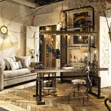 industrial home interior new industrial chic living room interior decorating ideas best