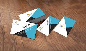 Id Card Design Psd Free Download Flat Style Business Card Template Design Free Psd Download