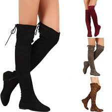 womens boots ebay canada flat the knee boots ebay