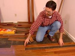 How To Lay A Laminate Floor On Concrete How To Install Wood Flooring Brucall Com