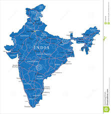 Dia Map India Map Royalty Free Stock Photos Image 31392568