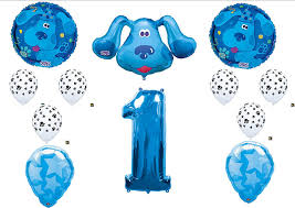 amazon com blues clues first 1st birthday party balloons