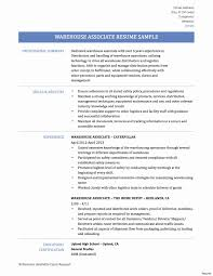 warehouse resume skills summary customer warehouse distribution resume 10 templates for worker associate