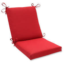 outdoor seat pad dining bistro cushion red target