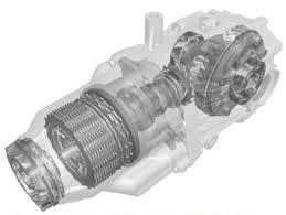 rear differential honda crv rt4wd