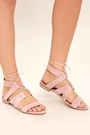 light pink sandals women s lowest price light pink steve madden august suede leather lace up