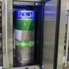 high end booze fridges aim to keep your kegger classy reviewed