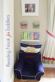 reading nook for toddlers a bowl full of lemons