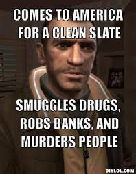 Niko And Meme - niko bellic my favorite gta character i think he s much