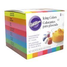 pretentious idea wilton gel food coloring color set pastel 224