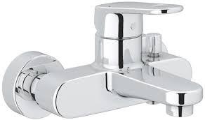 grohe europlus wall mounted bath shower mixer tap 33553 33553002