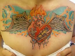 30 outstanding heart wings tattoos
