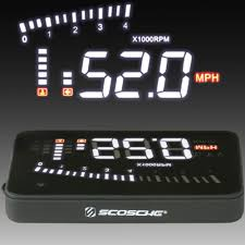 lexus lx heads up display car heads up display headsup obdii headsup obdii by scosche