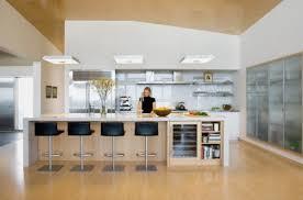 cuisine ouverte avec ilot table primaire 44 affichage cuisine ouverte avec ilot central élégant