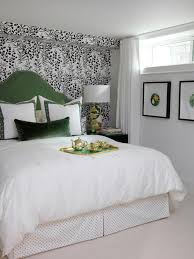 Master Bedroom Ideas With Wallpaper Accent Wall Retro Ranch Reno New Developments Master Bedroom Green Blue Accent